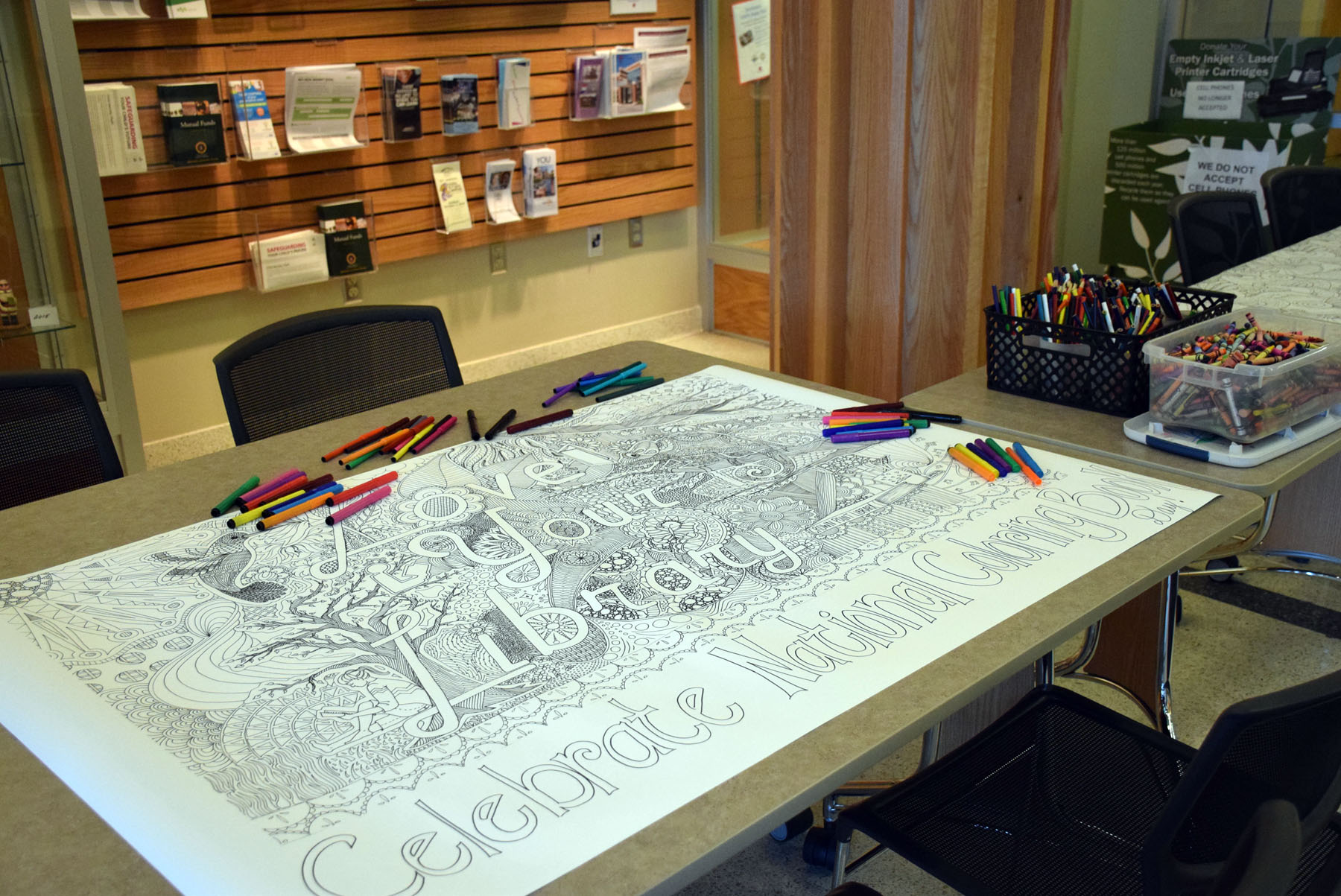 Crown Point Community Library - Today Is National Coloring ...