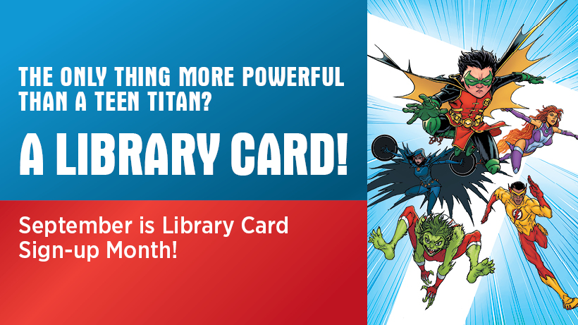 Download the library newsletter for more event information!